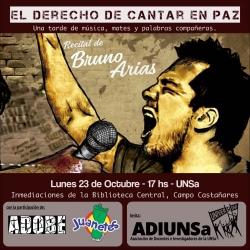Leer más:Bruno Arias en la UNSA hoy a las 17 horas