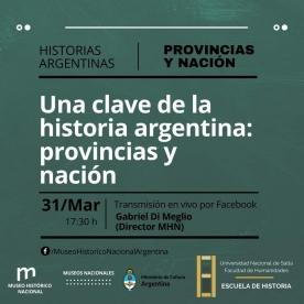 Leer más:Una clave de la historia Argentina: provincias y nación