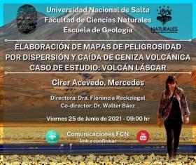 Leer más:Mañana defensa de trabajo final de Geología