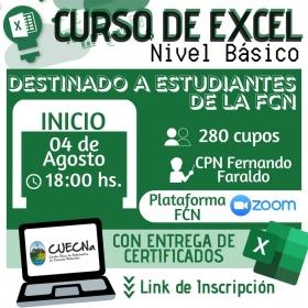 Leer más:CURSO DE EXCEL - Nivel Básico