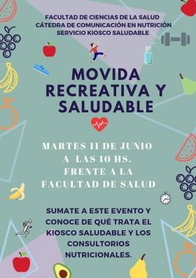 """Leer más:Kiosco Saludable: """"Movida Recreativa y Saludable"""""""