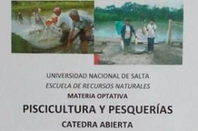 """Leer más:Invitan a la cátedra abierta """"Piscicultura y pesquerías""""."""