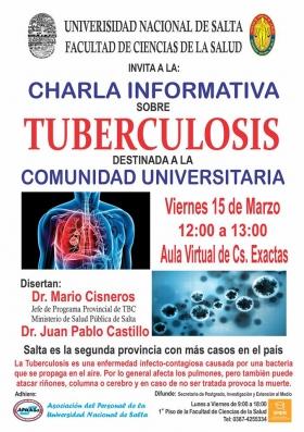 Leer más:Charla Informativa sobre Tuberculosis