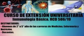 Leer más:Curso de Extensión Universitaria de Inmunología Básica