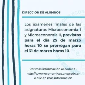 Leer más:Económicas: Exámenes de Microeconomía I y II