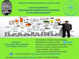 Leer más:Curso sobre  Organización administrativa Contable de un Emprendimiento