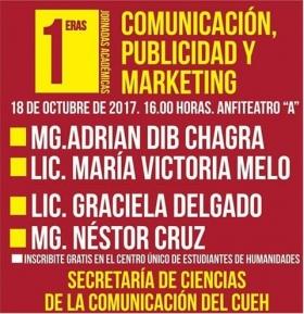 Leer más:Jornadas Académicas sobre Comunicación, Publicidad y Marketing