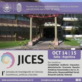 Leer más:Jornadas en Investigación en Ciencias Económicas, Jurídicas y Sociales