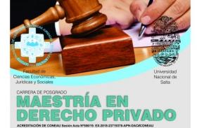 Leer más:Maestría en Derecho Privado