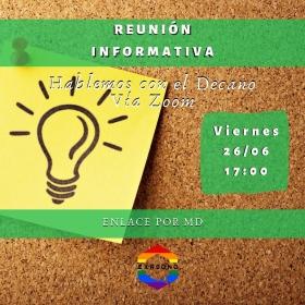 Leer más:Reunión informativa con el Decano de Exactas