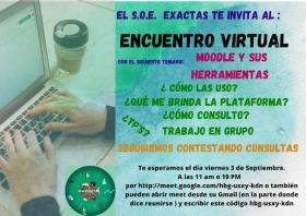 """Leer más:Encuentro virtual: """"Moodle y sus herramientas"""""""