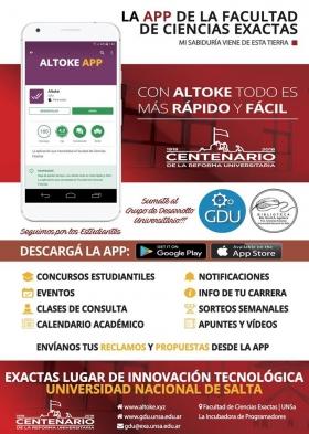 """Leer más:Presentación de la App """"Altoke"""""""