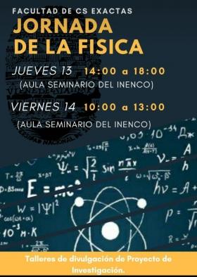 """Leer más:Semana de la Física: """"Jornada de la Física"""""""