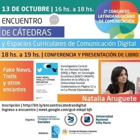 Leer más:REDCOM: Encuentro de Cátedras y espacios curriculares de Comunicación Digital