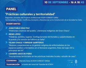 """Leer más:Panel sobre """"Prácticas culturales y territoriales"""""""