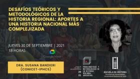 """Leer más:Conversatorio sobre los """"Desafíos teóricos y metodológicos de la historia regional: Aportes a una..."""