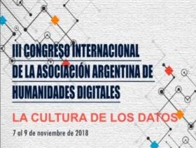 Leer más:3º Congreso Internacional: Humanidades Digitales