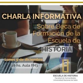 Leer más:Charla Informativa