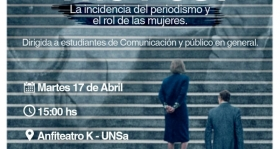 Leer más:Cine debate sobre periodismo y el rol de las mujeres