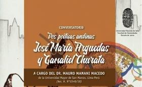"""Leer más:Conversatorio """"Dos poéticas andinas: José María Arguedas y Gamaliel Churata"""""""