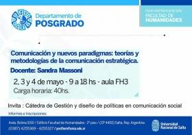 """Leer más:Curso de posgrado:""""Comunicación y nuevos paradigmas: teorías y metodologías de la comunicación..."""