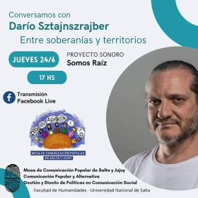 Leer más:Conversatorio con Darío Sztajnszrajber