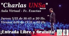 """Leer más:Ciclo de """"Charlas UNSa"""""""
