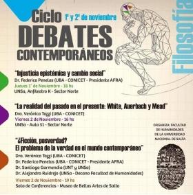 Leer más:Ciclo debates Contemporáneos