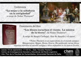 Leer más: Conferencia de Nolan Thaïseen y presentación de su libro