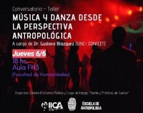 Leer más:Conversatorio-Taller: Música y danza desde la perspectiva Antropológica