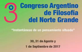 Leer más:III Congreso de Filosofía de la Red Norte Grande.