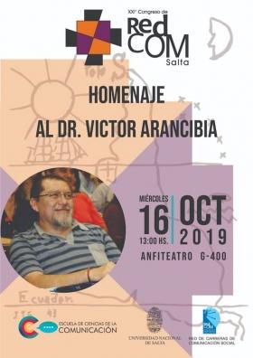 Leer más:Homenaje al Dr. Víctor Arancibia en el marco del XXI° Congreso de la REDCOM