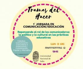 Leer más:1ª Jornada de Comunicación/Educación
