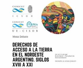 Leer más:Mesa Debate Derechos de acceso a la tierra en el NOA