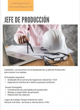 Leer más:Convocatoria laboral para Ingeniero Industrial / Civil