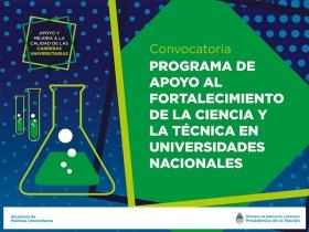 Leer más:Convocan proyectos de Ciencia y Técnica para financiación