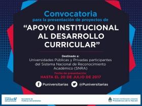 """Leer más:Convocan proyectos de """"Apoyo Institucional al Desarrollo Curricular"""""""