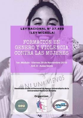 Leer más:Formación en Género y Violencia contra las Mujeres