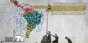 """Leer más:Primer concurso de ensayos """"A 100 años de la Reforma Universitaria""""."""