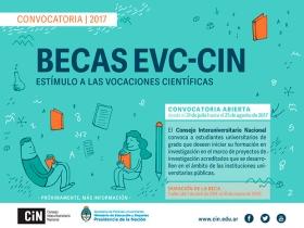 Leer más:Prórroga de solicitudes de Becas EVC.