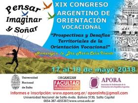 Leer más:XIX Congreso Argentino de Orientación vocacional