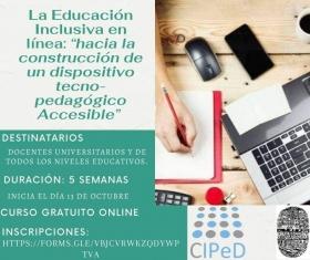 """Leer más:Seminario """"La educación inclusiva en línea"""""""