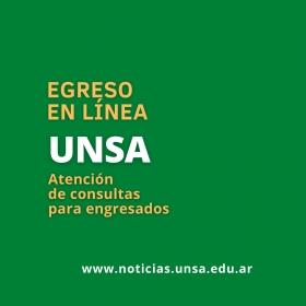 Leer más:Atención de consultas para egresados de la UNSa