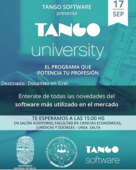 Leer más:Presentación del Sistema Tango para Docentes Universitarios