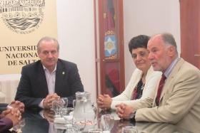 Leer más:Firma de convenio entre la U.N.Sa. y la Universidad Nacional de Cajamarca