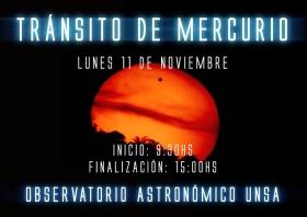 Leer más:Eclipse: Tránsito de Mercurio