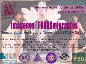 Leer más:Muestra del Archivo y Memoria LGBTIQ Salta