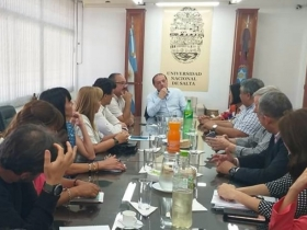 Leer más:El Rector de la UNSa se reunió con Legisladores Nacionales