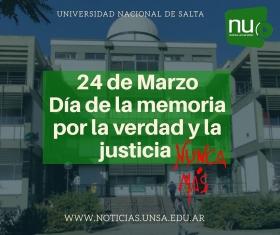 Leer más:Día de la memoria por la verdad y la justicia