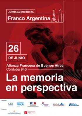 """Leer más:1ra Jornada Doctoral Franco Argentina: """"La memoria"""""""